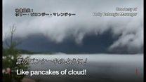 雲のパンケーキ? 米に出現したアーチ雲とは