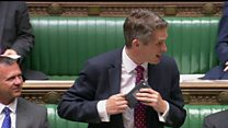 Defence secretary interrupted by Siri