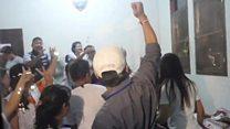 Families celebrate as Thai boys found