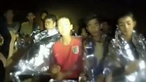 New video emerges of Thai cave boys