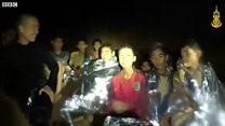 Mağarada mahsur kalan çocukların sağlık durumu iyi