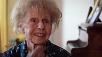 The 103-year-old pianist