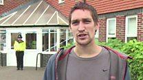 Amesbury victim was 'rocking and sweating'
