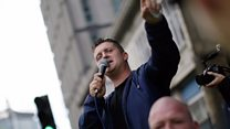 Why is Tommy Robinson in jail?