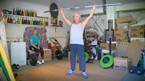 Retired couple become lifting champions