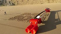 The sand-drawing robot and other news