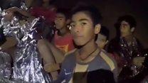 أطفال الكهف في تايلاند: خيارات عملية انقاذهم
