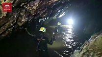 Medan sulit dan banjir hambat upaya penyelamatan di gua Thailand