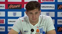 England player's message for trapped boys