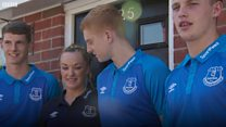 Everton's under-23 squad help buy house for homeless