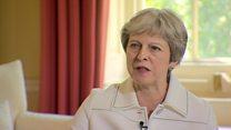 May: 'We move forward together'
