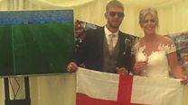 World Cup: Weddings and an England win