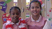 Schoolkids tell England to 'smash Sweden'