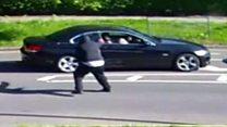 Gunman shoots at woman on morning commute