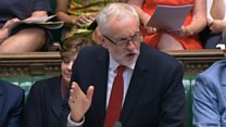 Corbyn mocks PM's cabinet crisis