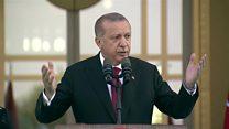 معرفی کابینه تازه از طرف آقای اردوغان در نظام جدید حکومتی ترکیه