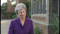 メイ英首相、英・EU自由貿易圏で閣内合意と この後に閣僚辞任