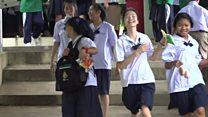 Teacher's pride in Thai cave boys' English