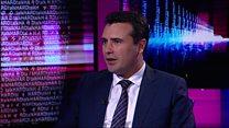 Macedonia PM's optimism on Nato EU deals