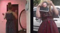 تضامنا مع مائدة إيرانيات ينشرن فيديوهات لهن وهم يرقصن