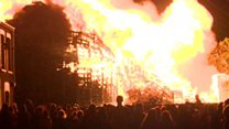 Eleventh night bonfires - culture and controversy