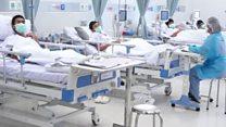 Las primeras imágenes de los niños tailandeses rescatados atendidos en el hospital