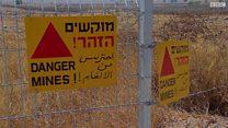 بي بي سي عند الحدود السورية الإسرائيلية