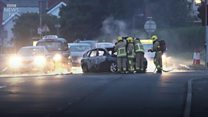Eleventh Night disturbances in Belfast and Londonderry