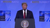 Trump: 'US not treated fairly'