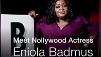 Dem say I cari for front and back - Eniola Badmus