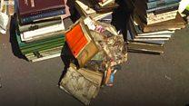 Книги у багні - що сталося з бібліотекою в Чернігові?