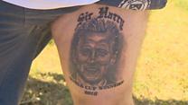 England fan hopes tattoo will 'boost' team