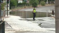 Water main causes disruption in Glasgow