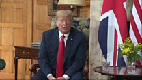 Trump: We've never had a better relationship