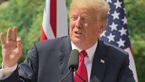 Trump rows back on Sun 'fake news' claim