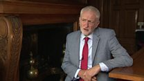 Corbyn: Trump's Khan attack 'unacceptable'
