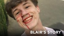 Blair's Reaction To Being Attacked For Being Gay