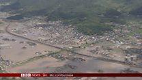သဘာဝဘေးအန္တရာယ်ကြားက ဂျပန်နိုင်ငံ