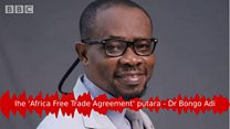Ihe 'Africa Free Trade Agreement' pụtara