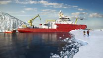 Polar ship: It's even got a coffee shop