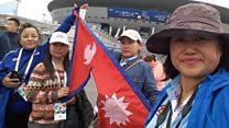 विश्वकप हेर्न रुस पुगेका नेपाली