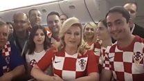 """""""Спасибо, Россия!"""": Президент Хорватии поблагодарила Россию за ЧМ-2018"""