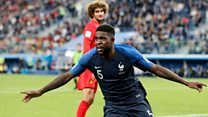 Samuel Umtiti get support from family for Yaoundé
