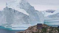 بالفيديو: انهيار جبل جليد في غرينلاند