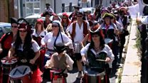 It's Pirate Day in Hastings