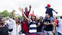 La diaspora africaine à Paris célèbre la victoire des Bleus