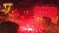У Парижі святкування перемоги в мундіалі вийшло з-під контролю