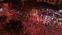 Како се прослава у Паризу претворила у насиље