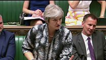 May denies Brexit deal is 'dead in the water'