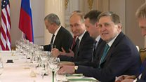 ТВ-новости: Что было на встрече Путина и Трампа?